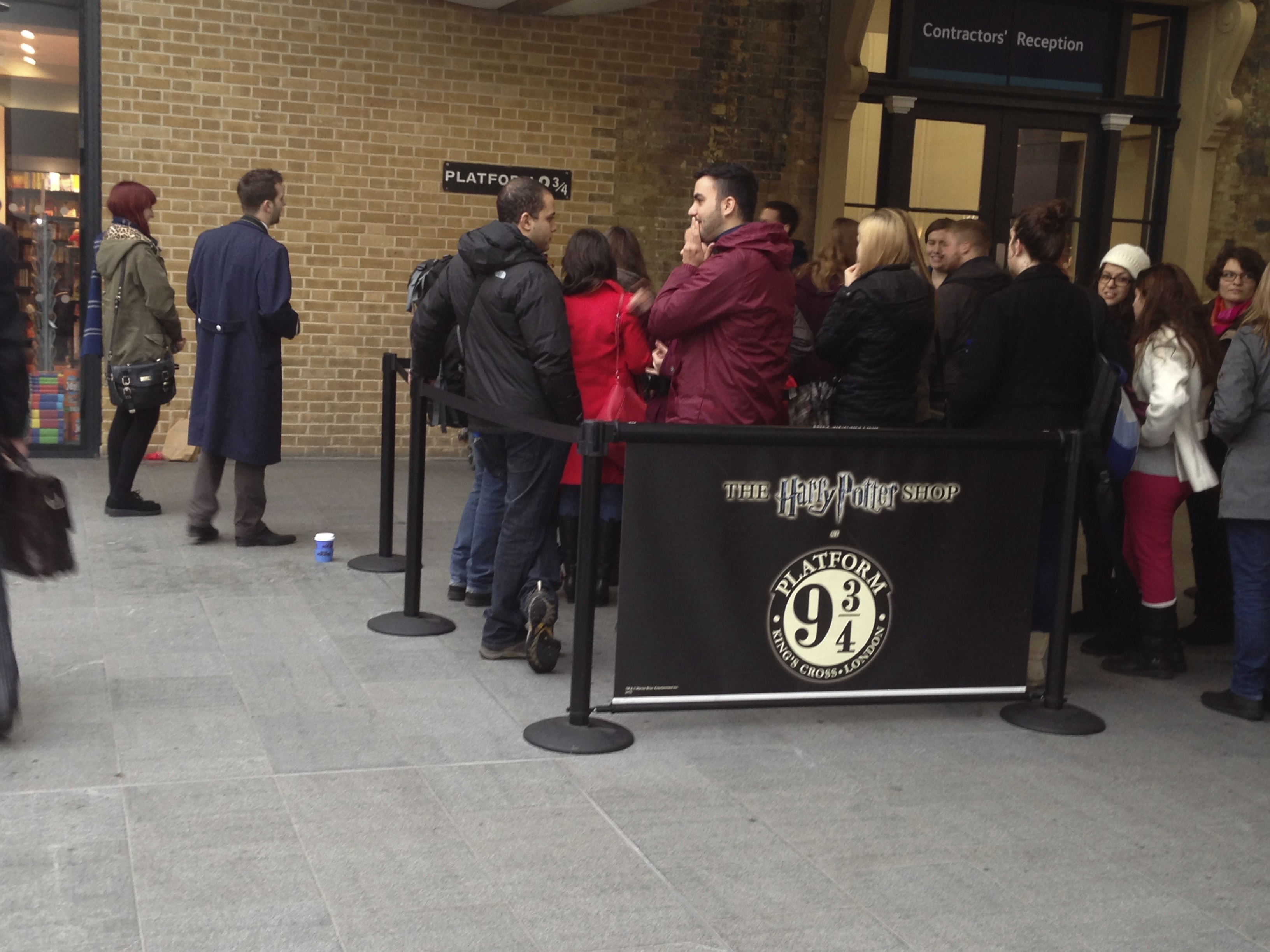 Harry Potter Kings Cross 01